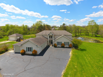 Du Page County, Kane County, Kendall County, Will County Single Family Home New: 5n480 Robin Lane
