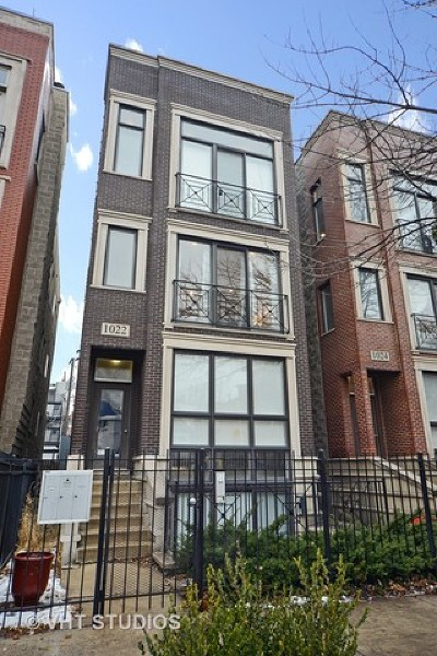 Condo/Townhouse New: 1022 North Paulina Street #2
