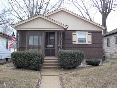 Lansing Single Family Home New: 17919 Glen Oak Avenue