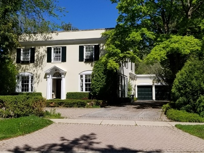 Lake Forest Single Family Home New: 461 North Green Bay Road