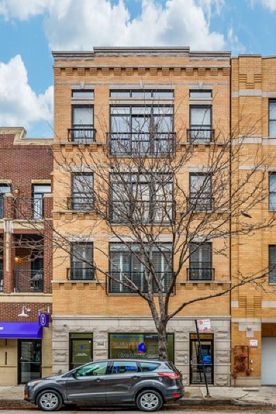 Chicago Condo/Townhouse New: 2046 West Belmont Avenue #2