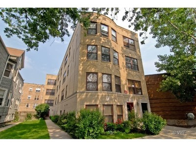 Condo/Townhouse New: 4017 North Troy Street #3W