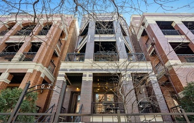 Condo/Townhouse New: 1035 West Monroe Street #1