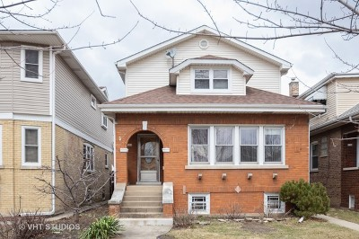 Chicago Single Family Home New: 5126 West Newport Avenue