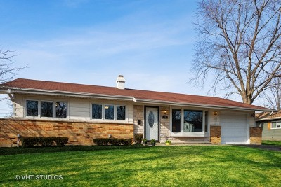 Hoffman Estates Single Family Home New: 620 Hillcrest Boulevard