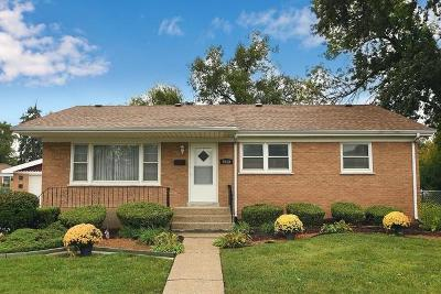 Chicago Ridge Single Family Home Price Change: 5940 107th Place