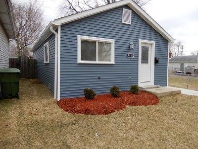 Oak Lawn Single Family Home New: 9827 Cook Avenue