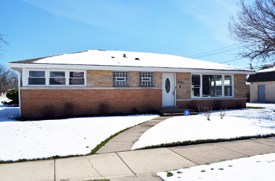 Skokie Single Family Home Re-Activated: 9151 Kenneth Avenue