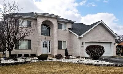 Lansing Single Family Home New: 18112 Donatus Drive