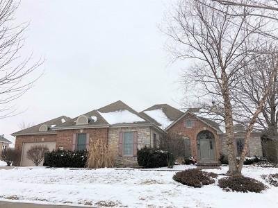 Beecher Single Family Home Price Change: 291 Fairway Drive