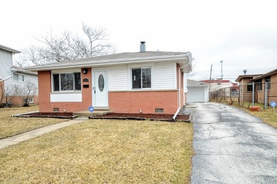 Calumet City Single Family Home New: 1257 Arthur Street