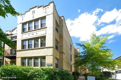 Condo/Townhouse New: 2140 West Addison Street #1C