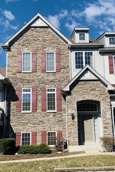 Carol Stream Condo/Townhouse For Sale: 307 Sype Drive