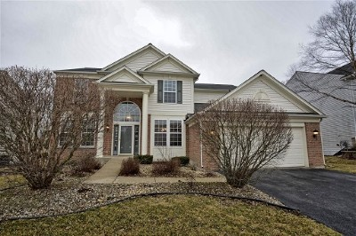 Bolingbrook Single Family Home Re-Activated: 1527 Firethorn Street