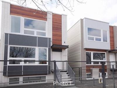 Chicago Single Family Home New: 3636 North California Avenue