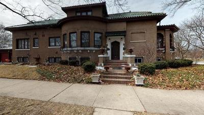 Chicago Single Family Home New: 2501 West Lunt Avenue