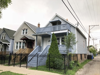 Single Family Home For Sale: 1840 North Drake Avenue