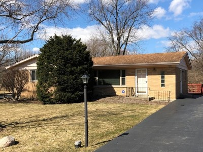 West Chicago  Single Family Home For Sale: 29w510 Lee Road