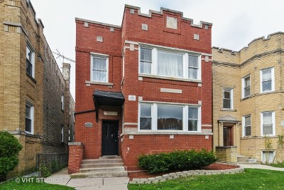 Chicago Multi Family Home New: 6030 North Claremont Avenue North