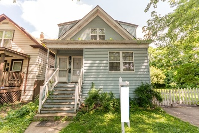 Chicago Multi Family Home New: 1834 West Birchwood Avenue