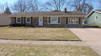 Schaumburg Single Family Home For Sale: 534 Westover Lane