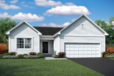 Channahon Single Family Home New: 26460 West Wild Rose Lot#584 Drive