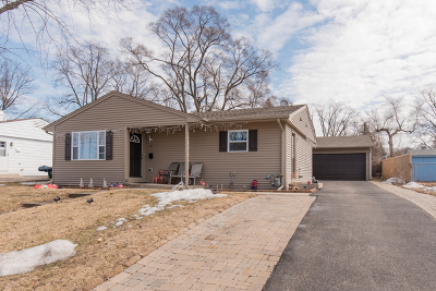 Carpentersville Single Family Home Contingent: 17 Aspen Lane