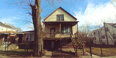 Chicago Multi Family Home New: 9209 South Woodlawn Avenue