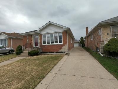Norridge Single Family Home For Sale: 4537 North Osage Avenue