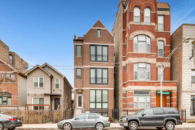 Chicago Condo/Townhouse New: 1345 West Huron Street #3