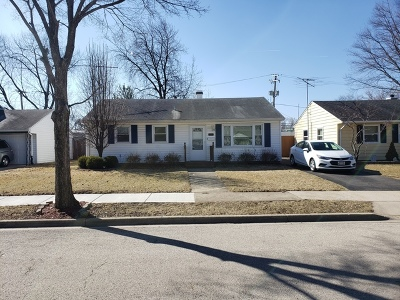 Joliet Single Family Home New: 1406 Cleary Avenue