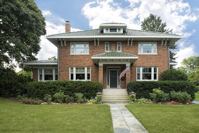 Kenilworth Single Family Home For Sale: 118 Oxford Road