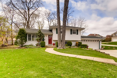 Downers Grove IL Single Family Home Re-Activated: $318,000