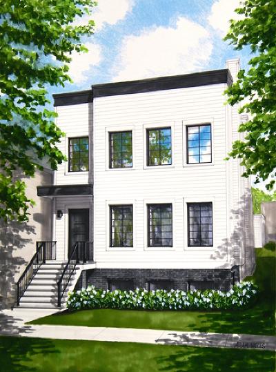 Single Family Home For Sale: 3647 North Leavitt Street