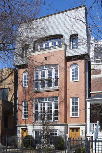 Chicago Condo/Townhouse New: 816 West Oakdale Avenue #3