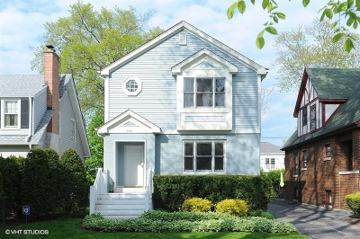 Highland Park Single Family Home For Sale: 591 Pleasant Avenue North