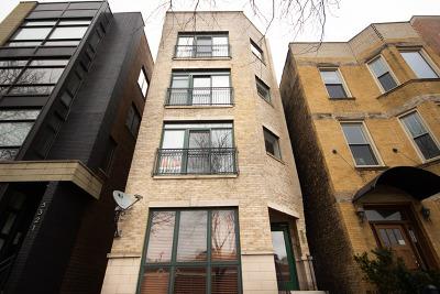 Chicago Condo/Townhouse New: 3319 North Sheffield Avenue #4