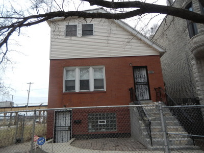 Chicago Single Family Home New: 3722 South Wabash Avenue