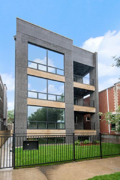 Condo/Townhouse New: 2508 North Greenview Avenue #1W