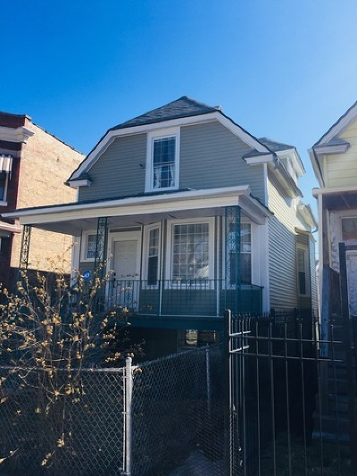 Chicago Single Family Home New: 919 North Lawler Avenue