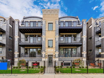 Cook County Condo/Townhouse New: 3914 South King Drive #1N