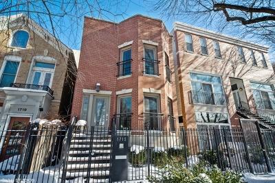 Single Family Home For Sale: 1715 North Hoyne Avenue