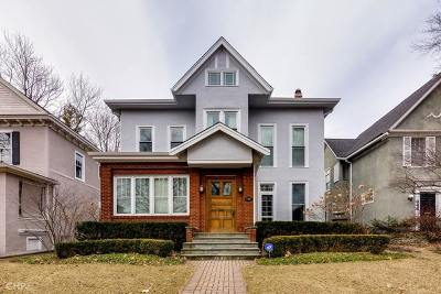 Evanston Single Family Home For Sale: 640 Judson Avenue