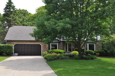 Oak Brook Single Family Home Price Change: 173 Green Leaf Drive