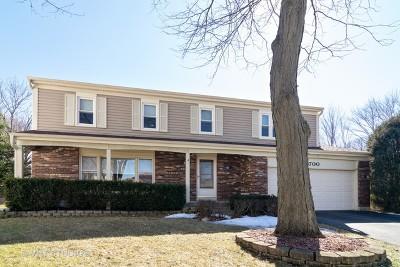Carol Stream Single Family Home For Sale: 700 Fox Court
