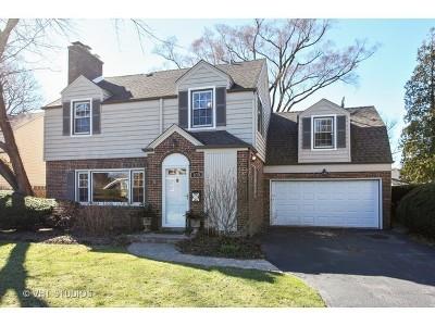 Wilmette Single Family Home For Sale: 839 Chilton Lane