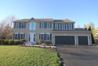 Algonquin Single Family Home Price Change: 3610 Wintergreen Terrace