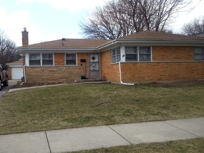 Wilmette Single Family Home Price Change: 329 West Wilshire West Drive