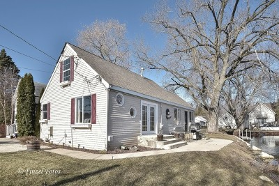 Spring Grove Single Family Home Price Change: 37998 North Nora Place