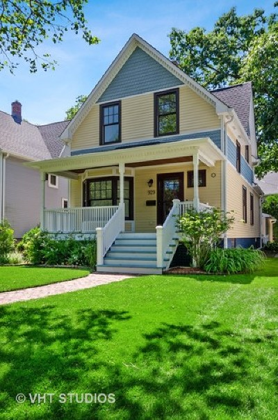 Wilmette Single Family Home For Sale: 929 12th Street